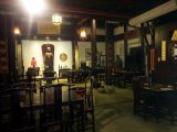 因經營古董而開設的徽派古色古香建築餐廳